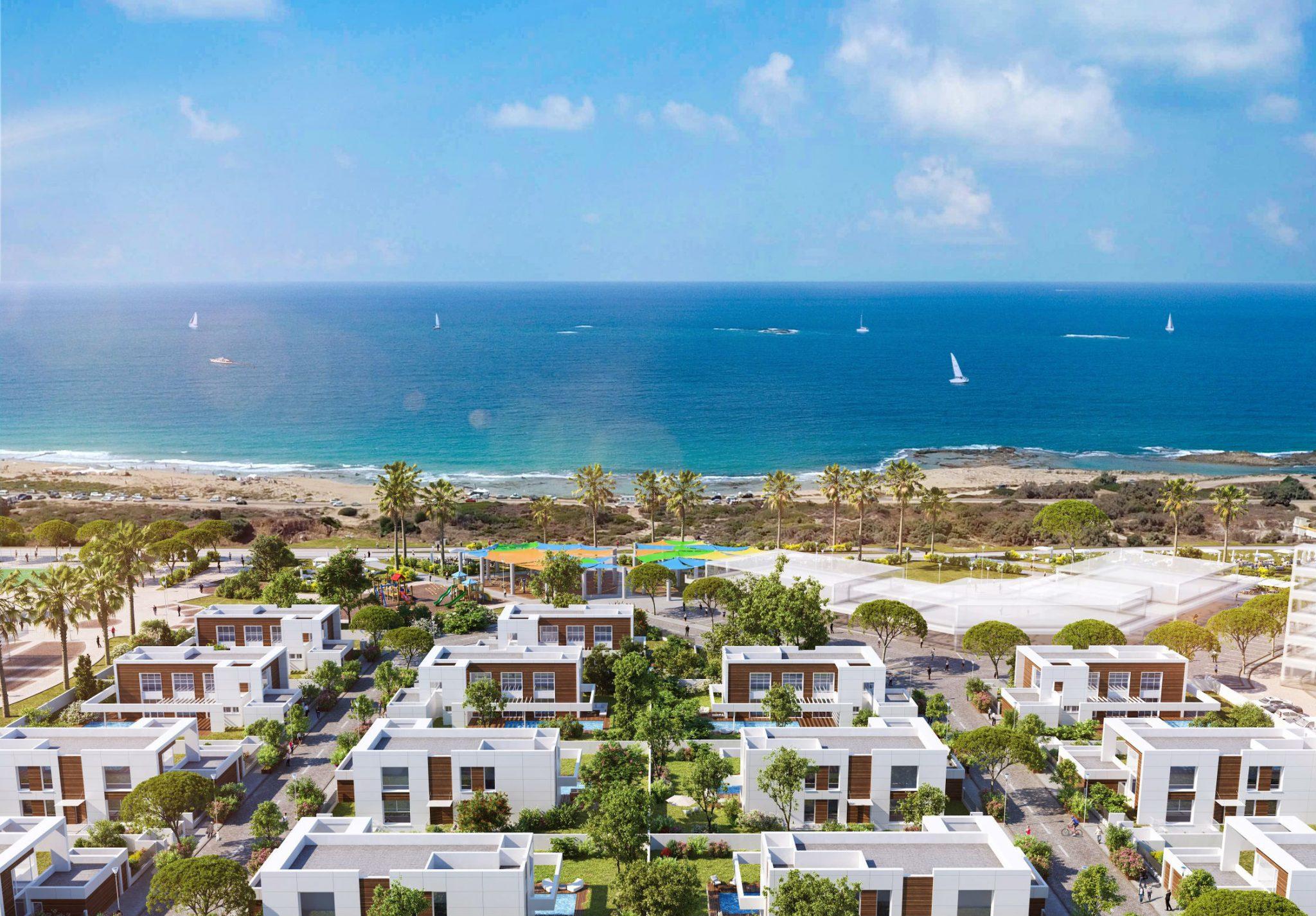 וילה חדשה עם בריכה על רצועת החוף הכי יפה בישראל, שמורת הטבע אכזיב – תעלה לכם רק 3 מיליון שקל