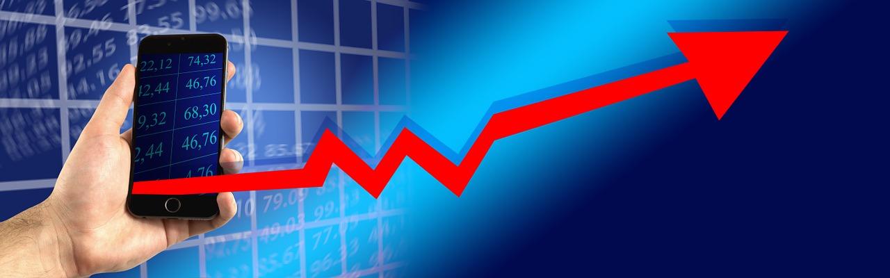 גרף של שוק ההון