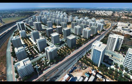 הבשורה של רעננה: רובע עסקים ומגורים בקונספט חדשני